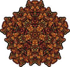 Free Orange-black Star Royalty Free Stock Image - 30666536