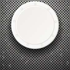 Free White Plate Over Grid Stock Image - 30669971