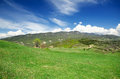 Free Green Meadow With Mountains Stock Photos - 30672023