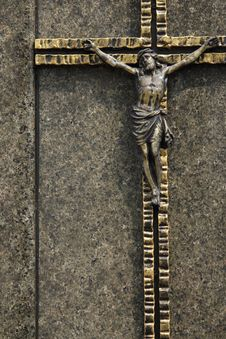 Free Holy Cross With Crucified Jesus Christ Stock Image - 30673501