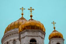 Free Cathedral Of Christ The Saviour Cupola Stock Photos - 30675633
