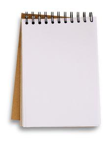Free Open Blank Notebook. Stock Photos - 30675723