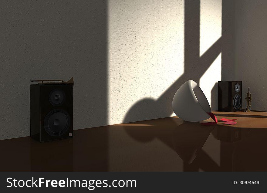 LoudSpeaker Room