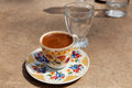 Free Turkish Coffee At The Street Cafe Royalty Free Stock Photography - 30682847