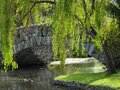 Free Stone Bridge In The Park Stock Images - 30691874