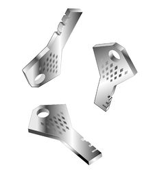 Free Metallic Key Stock Photos - 30691453