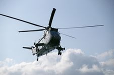 Free Sea King Helicopter Stock Photography - 30692582