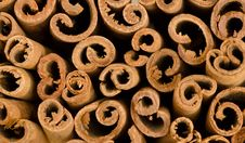 Free Cinnamon Background Royalty Free Stock Photography - 30697037
