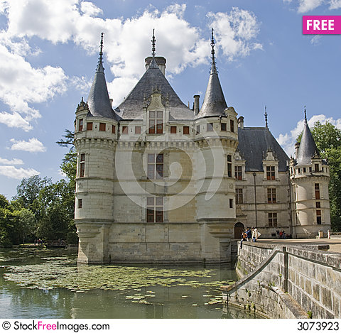 chateau azay le rideau france free stock photos images 3073923. Black Bedroom Furniture Sets. Home Design Ideas