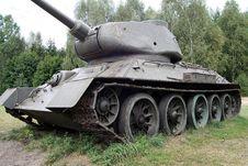Free Tank Royalty Free Stock Image - 3071556
