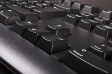 Black Keyboard Stock Photos