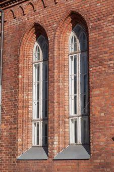 Free Church Windows Royalty Free Stock Image - 3072816