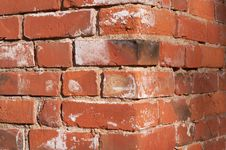 Free Red Brick Wall Corner Royalty Free Stock Photos - 3072898