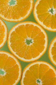 Free Orange Slices Royalty Free Stock Image - 3073006