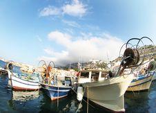 Free Fisheye Boats Royalty Free Stock Photo - 3073215