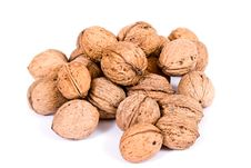 Free Walnuts Close Up Isolated Stock Images - 3073604