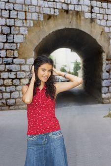 Free Beautiful Smiling Girl Stock Photography - 3075562