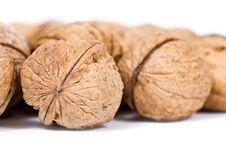Free Walnuts Close Up Isolated Stock Photos - 3075803
