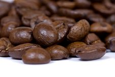 Free Coffee Beans Closeup Royalty Free Stock Photography - 3075817