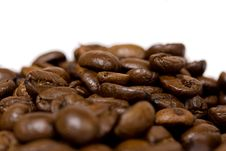 Free Coffee Beans Closeup Royalty Free Stock Photos - 3075818