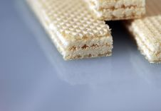 Wafers, Sweets Stock Photography