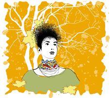 Autumn Imagination Royalty Free Stock Image