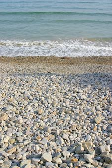 Free Beach With Stones Stock Image - 3077261