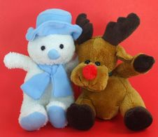 Free Christmas Buddies Stock Images - 3077404