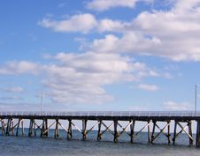 Free Jetty South Australia Distance Stock Image - 3077621