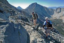 Free Climbing Rocky Ridge Royalty Free Stock Images - 3078069