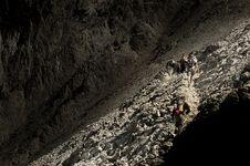Free Climbing Rocky Ridge Stock Photo - 3078100