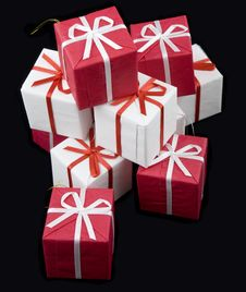 Free Small Parcel Of Presents Stock Photography - 3078202