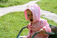 Free Yawning Baby Royalty Free Stock Photography - 3079087