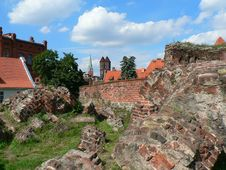Free View From Torun Castle Stock Image - 3079131