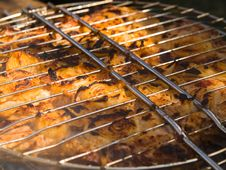 Free Barbecue Close-up Royalty Free Stock Images - 3079329