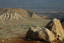 Free Jordanian Valley ,19 Royalty Free Stock Photo - 3079635