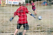 Free Penalty - Saving Stock Photos - 3079883