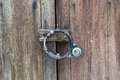 Free Wooden Doors And Lock. Stock Image - 30700201