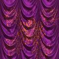 Free Purple Curtains Stock Photos - 30701963