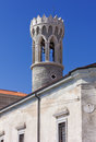 Free St. Klement Church Bell Tower In Piran Royalty Free Stock Images - 30702179