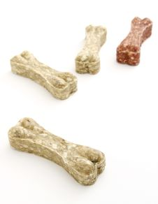 Free Dog Bone Food Stock Photo - 30700430