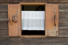 Free Old Wooden Window Stock Photo - 30700520