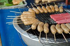 Free Thai Sausage Stock Photos - 30701253