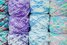 Yarn Ball Background Stock Images