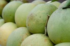 Free Green Pomelos Stock Photography - 30701652