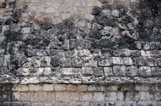Free Walls Details Of A Stone Surface In An Ancient May Stock Photography - 30703192