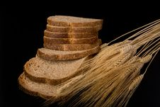 Free Fresh Wheat Bread. Royalty Free Stock Images - 30705159