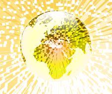 Free Globe Extrude Royalty Free Stock Photos - 30705918