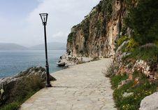 Free Nafplio, Navplion, Greece- Walking Trail Around The Mountain Royalty Free Stock Images - 30706129
