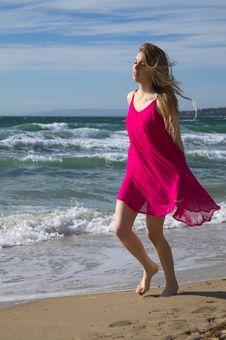 Free Beach Stroll Stock Photography - 30706422